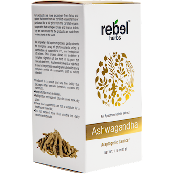Ashwagandha Powdered 1.15 oz