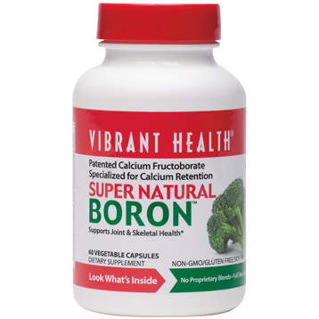 Super Natural Boron 60 vegCapsules
