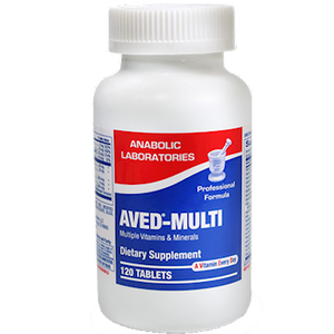 AVED-Multi Optimal Health 120 tabs