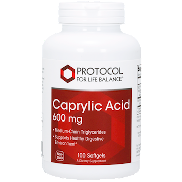 Caprylic Acid 100 softgels