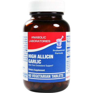 High Allicin Garlic 60 vegtabs