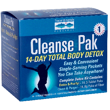 Cleanse Pak 14-Day Total Body Detox Kit