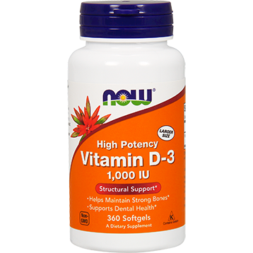 Vitamin D-3 1000 IU 360 softgels