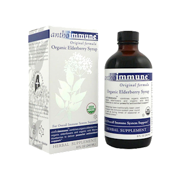 Organic Elderberry Syrup 8 oz