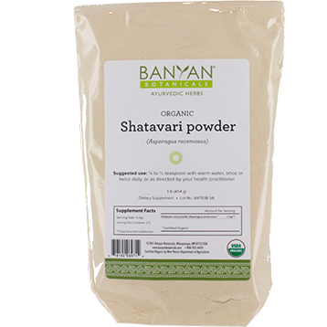 Shatavari Root Powder, Organic 1 lb