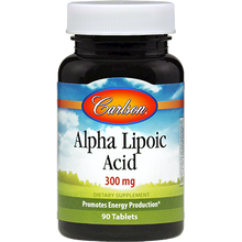 Load image into Gallery viewer, Alpha Lipoic Acid 300 mg 90 tabs