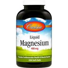 Load image into Gallery viewer, Liquid Magnesium 400 mg 250 gels