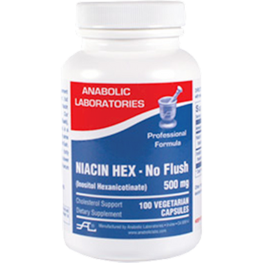 Niacin Hex (No Flush) 525 mg 100 vegcaps