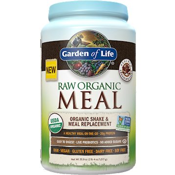 RAW Organic Meal Vanilla 28 servings