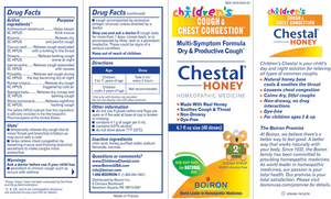 Chestal Children Cough Honey 6.7 oz