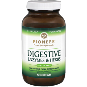 Digestive Enzymes & Herbs 120 vcaps