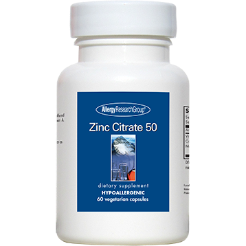 Zinc Citrate 50 mg 60 caps