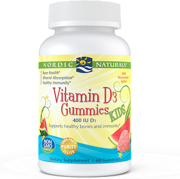 Vitamin D3 Kids 60 gummies