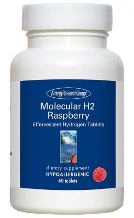 Molecular H2 Raspberry 60 Vegetarian Tablets