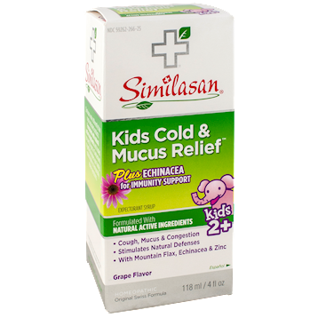 Kids Cold & Mucus Relief Syrup 4 fl oz