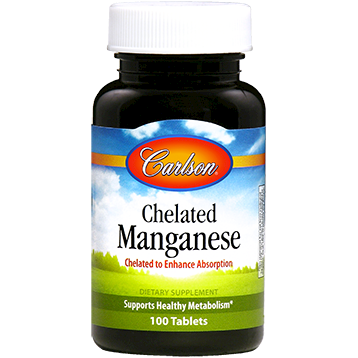 Chelated Manganese 20 mg 100 tabs