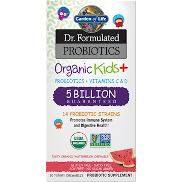 Organic Kids Probiotics Water 30 chews