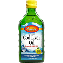 Load image into Gallery viewer, Cod Liver Oil Lemon 8.4 fl oz