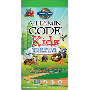 Vitamin Code Kids Chewable Multi 60 tabs