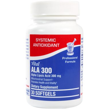 Vital ALA 300 30 softgels