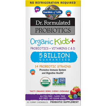 Organic Kids Probiotics Berry SS 30chew