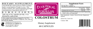 Colostrum 60 caps