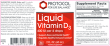 Load image into Gallery viewer, Liquid Vitamin D3 2 oz