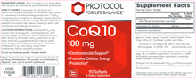 Load image into Gallery viewer, CoQ10 100 mg 90 gels