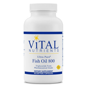 Ultra Pure® Fish Oil 800 TG 90 softgels