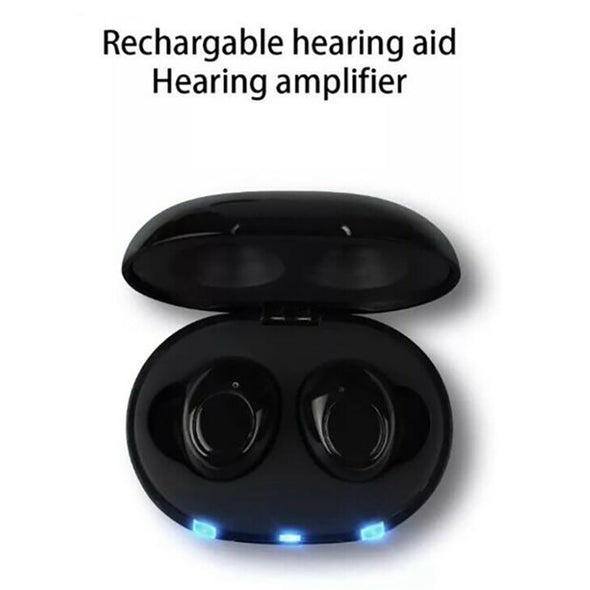 🔥 ON SALE: Buy 1 New AHA Recharge Hearing Aid And Get The Second Ear FREE! Plus Get a FREE Portable Charging Case Worth $60