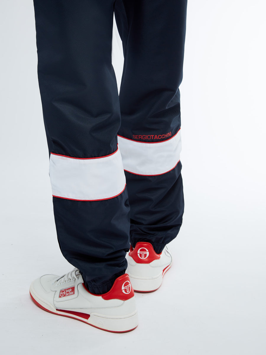 Berry Tracksuit - NAVY/WHITE