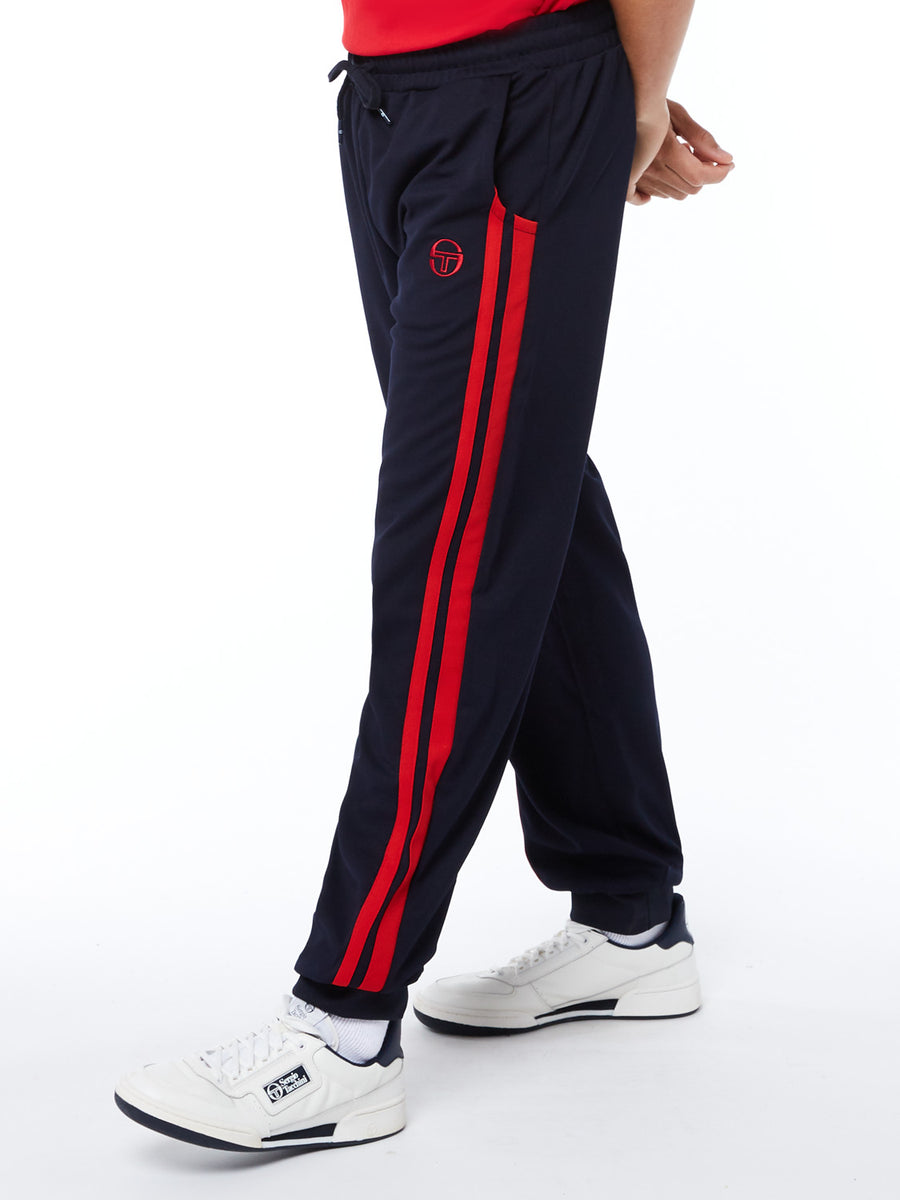 New Damarindo Track Pants Archivio - NIGHT SKY/TANGO RED
