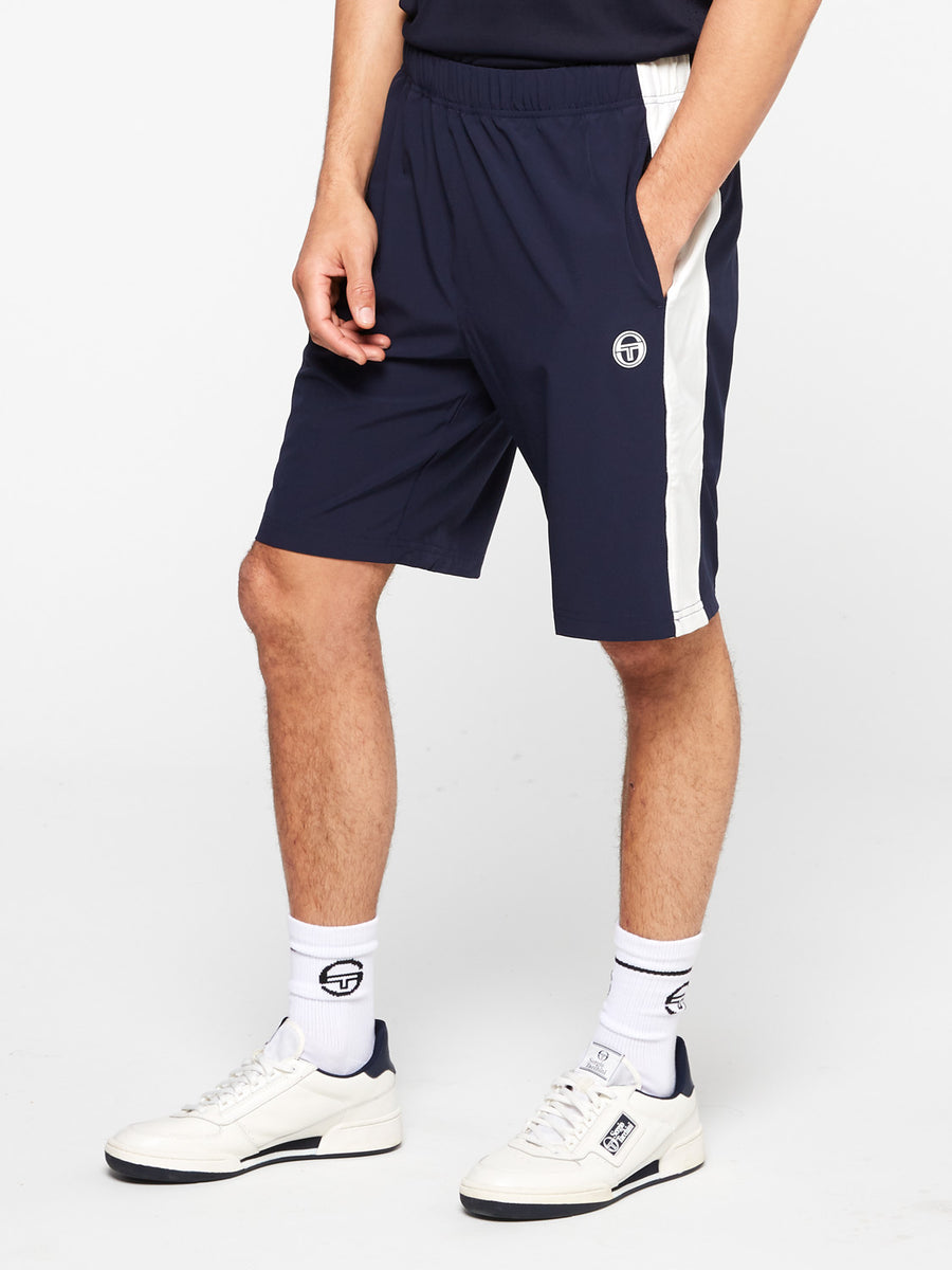 Tennis Young Line Pro Shorts - NIGHT SKY/BLANC DE BLANC