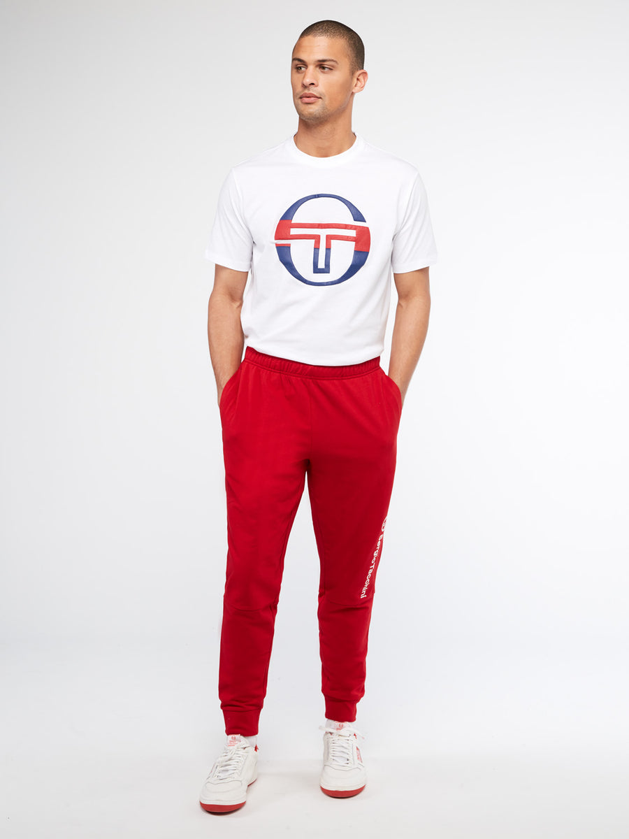 Almers Sweatpants - TANGO RED