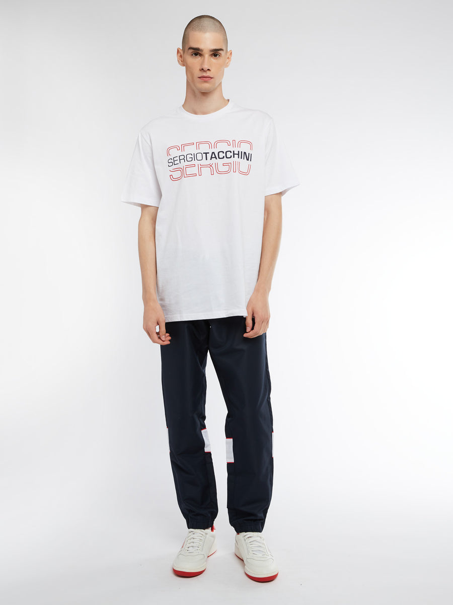 Bowl T-Shirt - WHITE/RED
