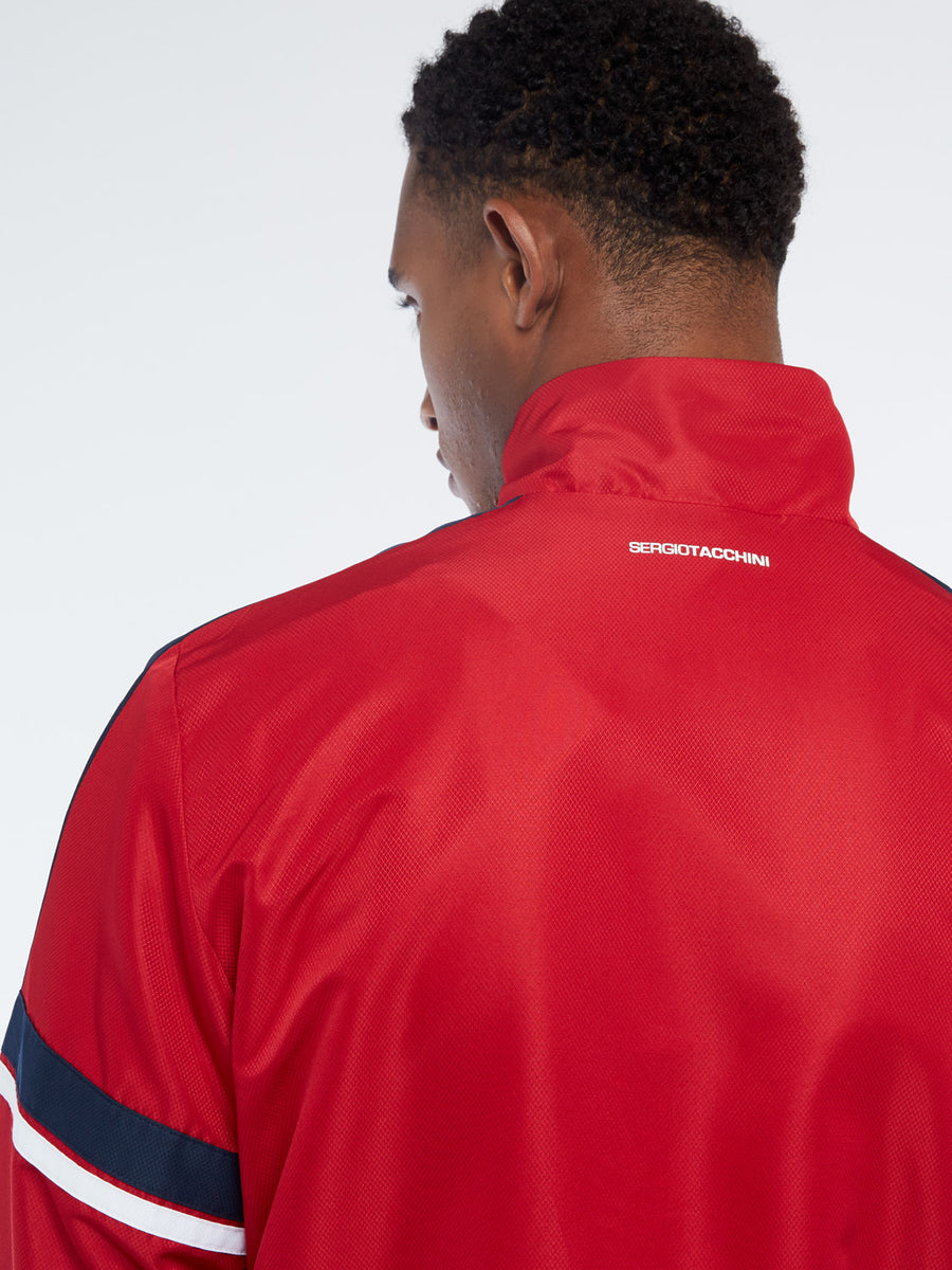Cryo Tracksuit - NAVY/APPLE RED