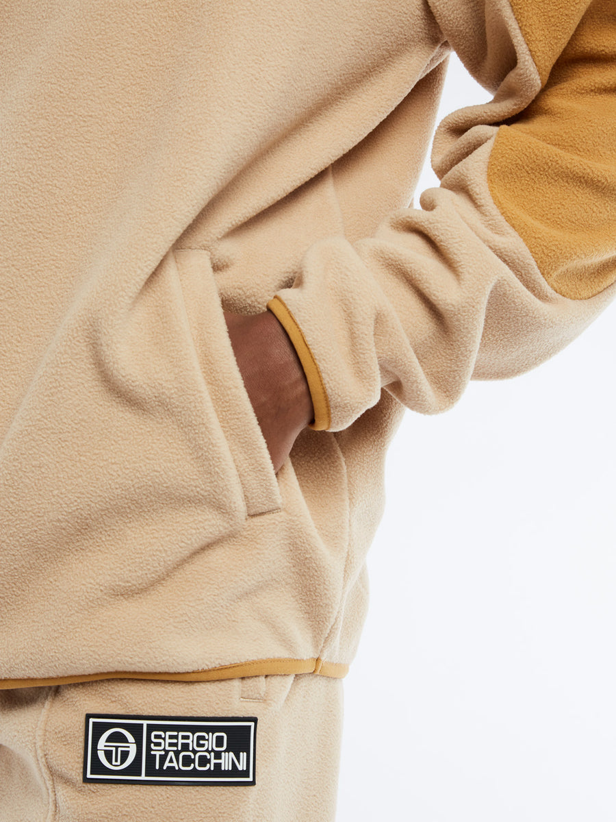 Bliss Fleece Hoodie - NOMAD/CINNAMON
