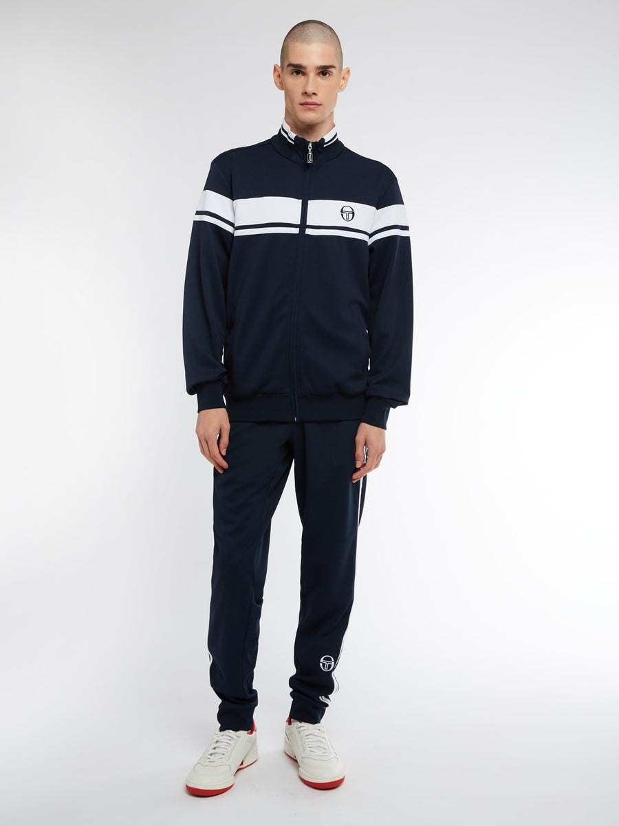 Damarindo Sweater Archivio - NAVY/WHITE