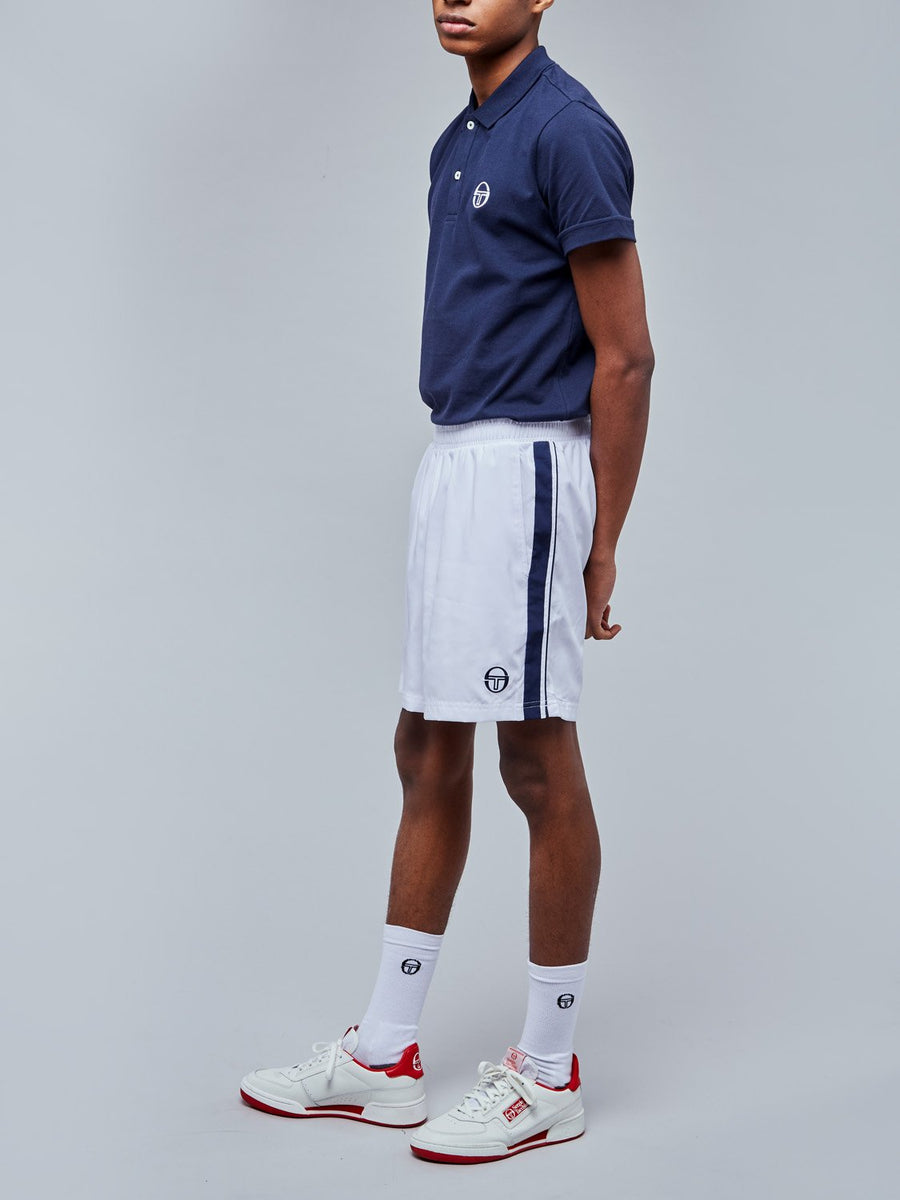 YOUNG LINE PRO SHORTS - WHITE/NAVY