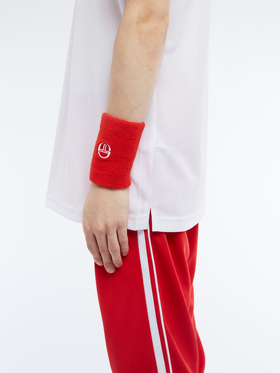 Tennis Wristband - RED/WHITE