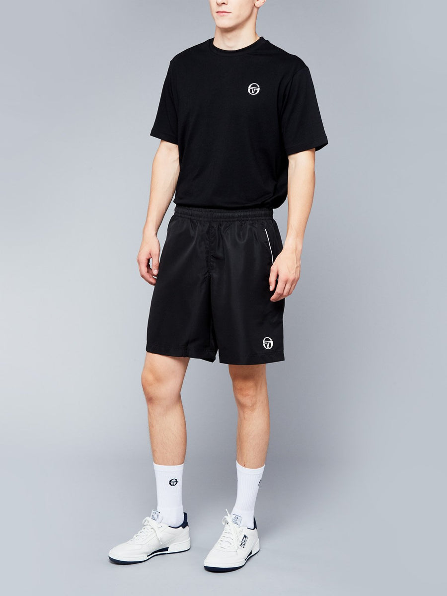 ROB SHORTS - BLACK/WHITE