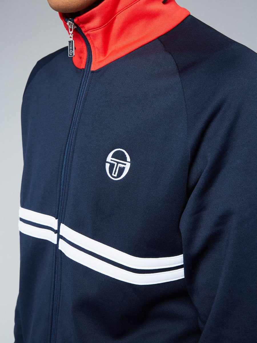 DALLAS TRACKTOP ARCHIVIO - NAVY/WHITE