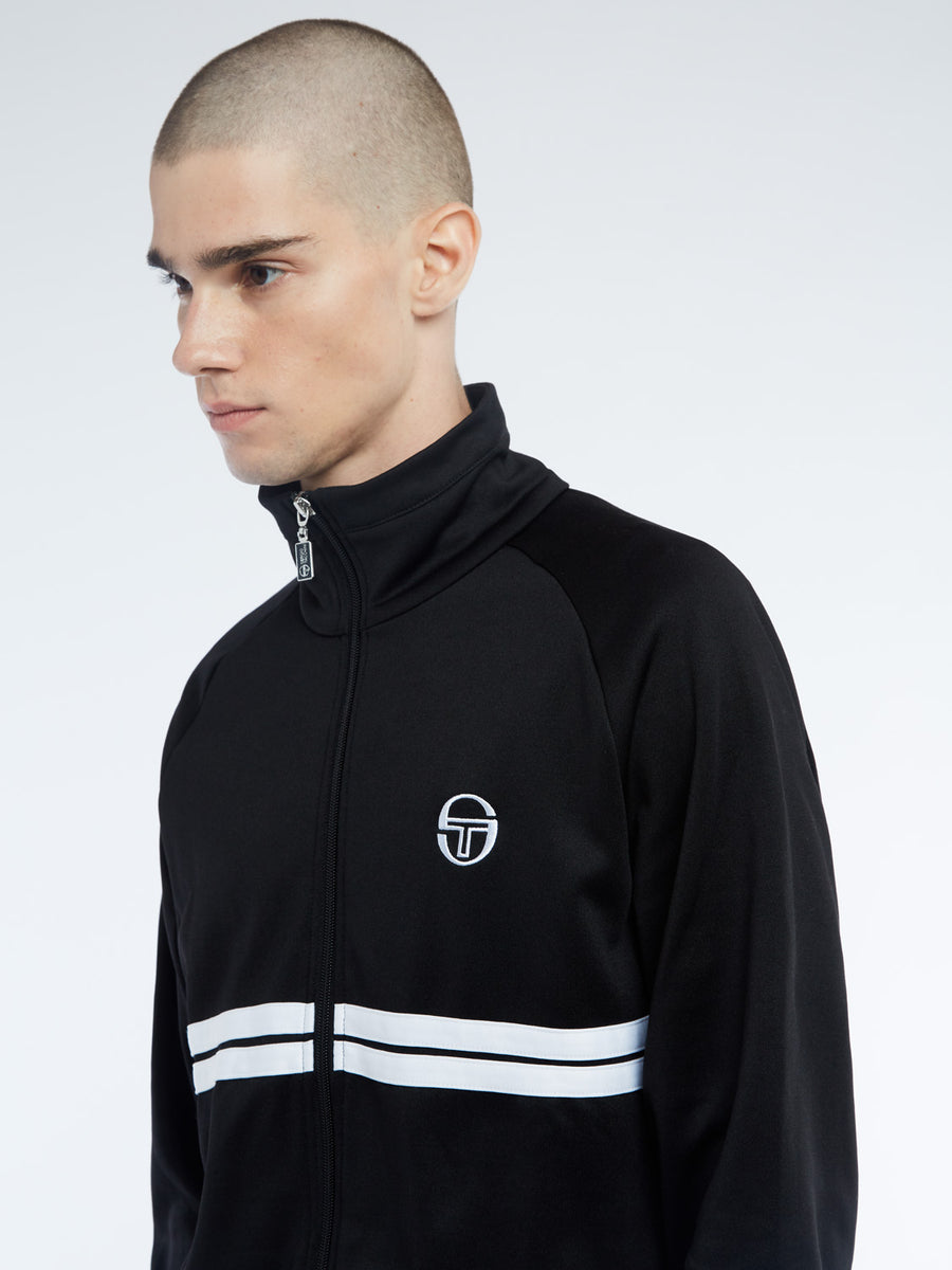 Dallas Track Jacket Archivio - BLACK/WHITE