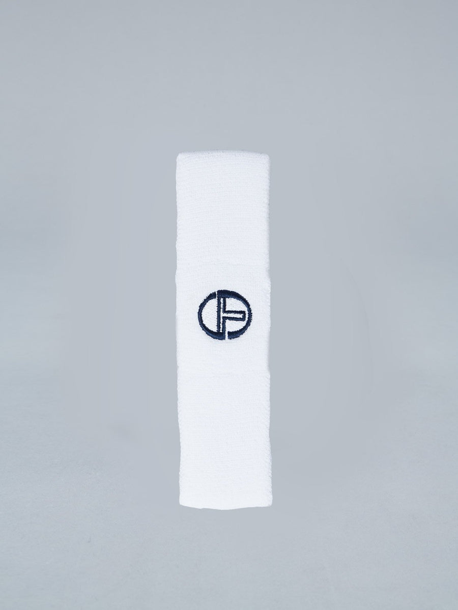 HEADBAND - WHITE/NAVY
