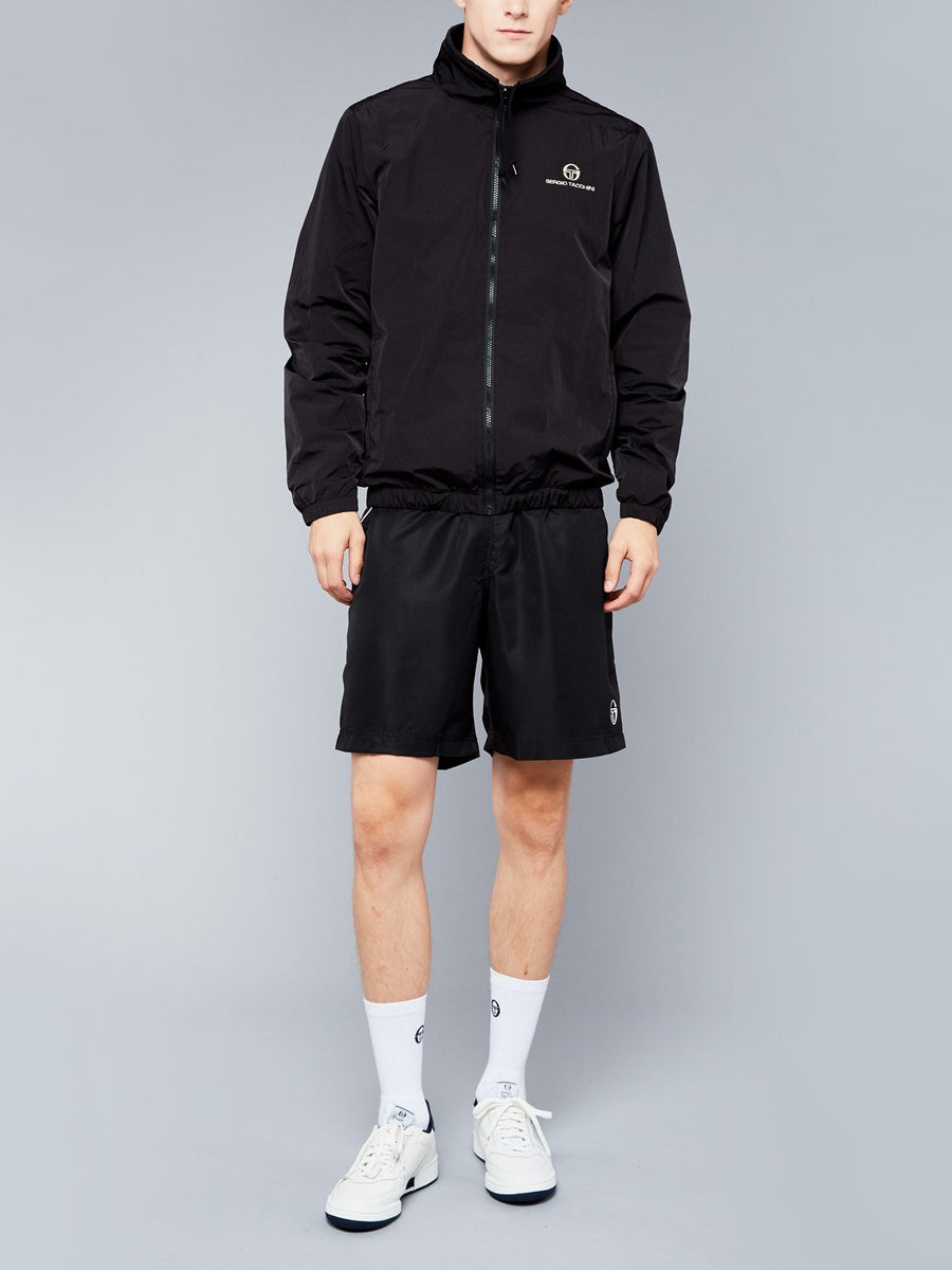 DEVONTE TRACKTOP - BLACK/BIRCH