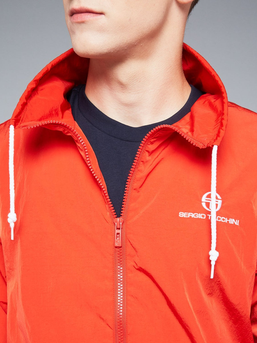 DEVONTE TRACKTOP - VINTAGE RED/WHITE