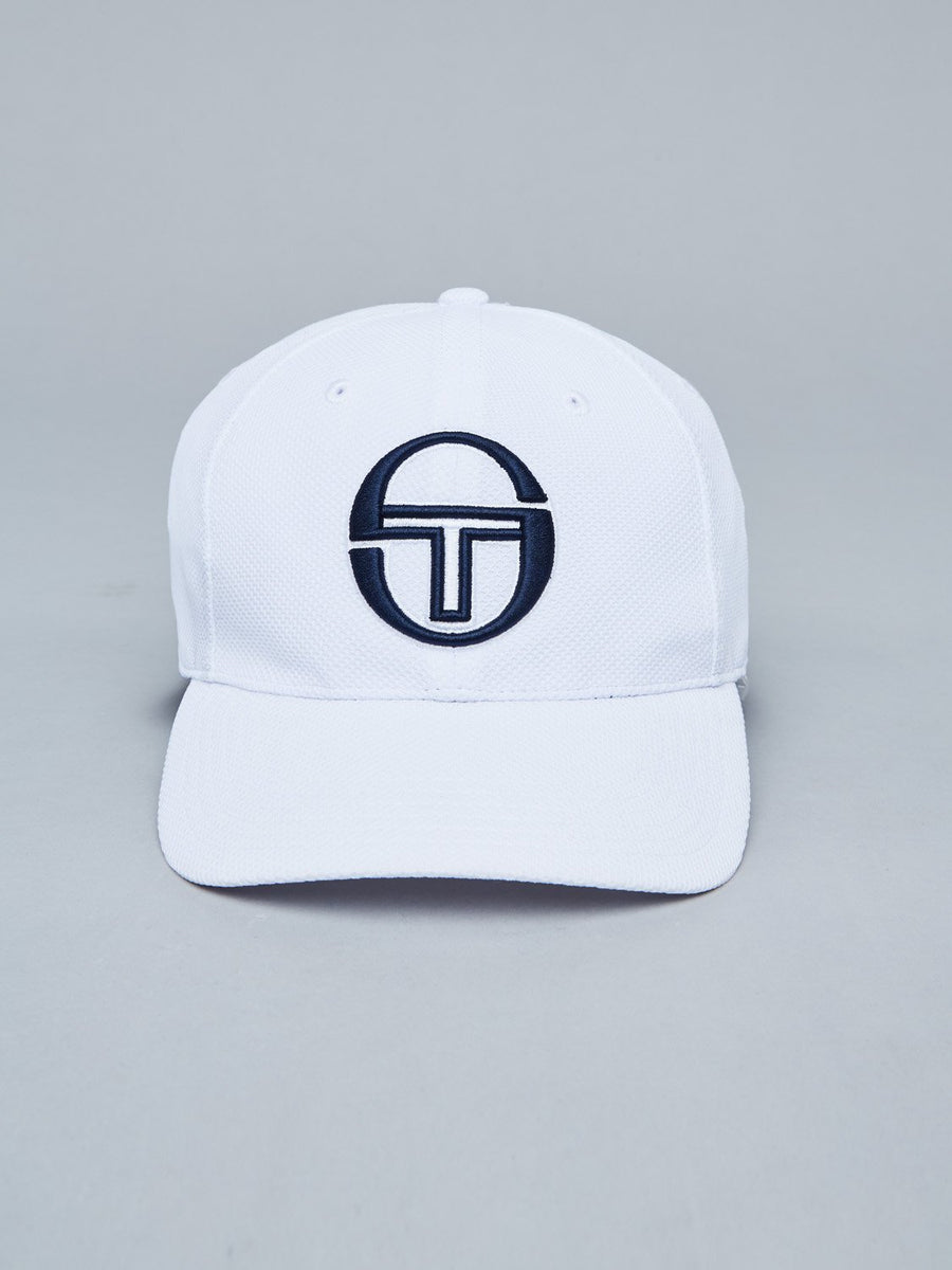 CHAIN CAP - WHITE/NAVY