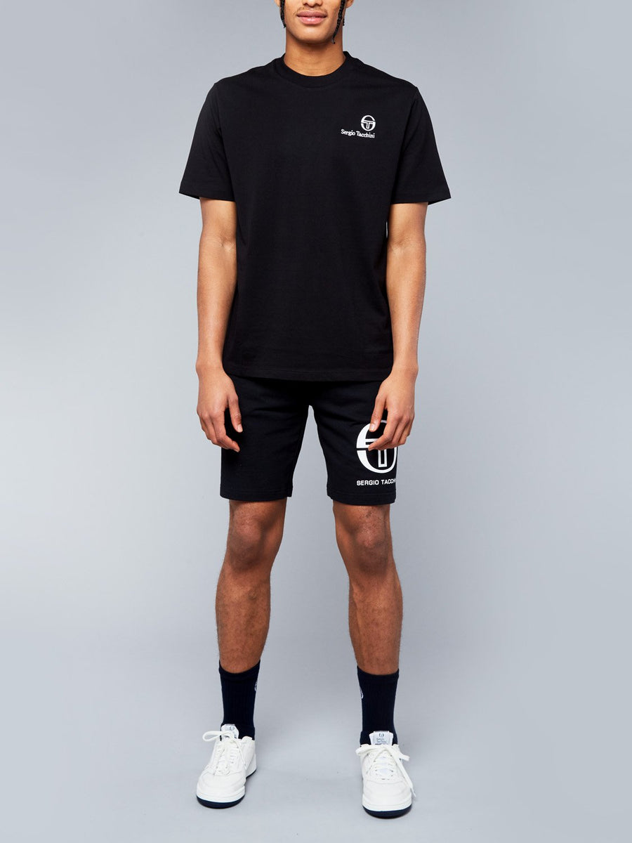 FELTON T-SHIRT - BLACK/WHITE