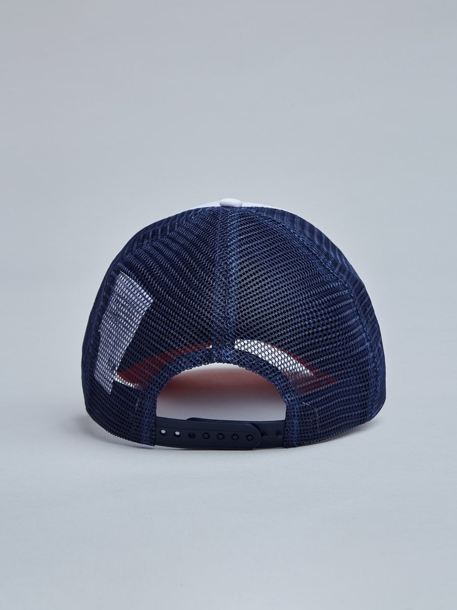 FRIP CAP - WHITE/VINTAGE RED/NAVY