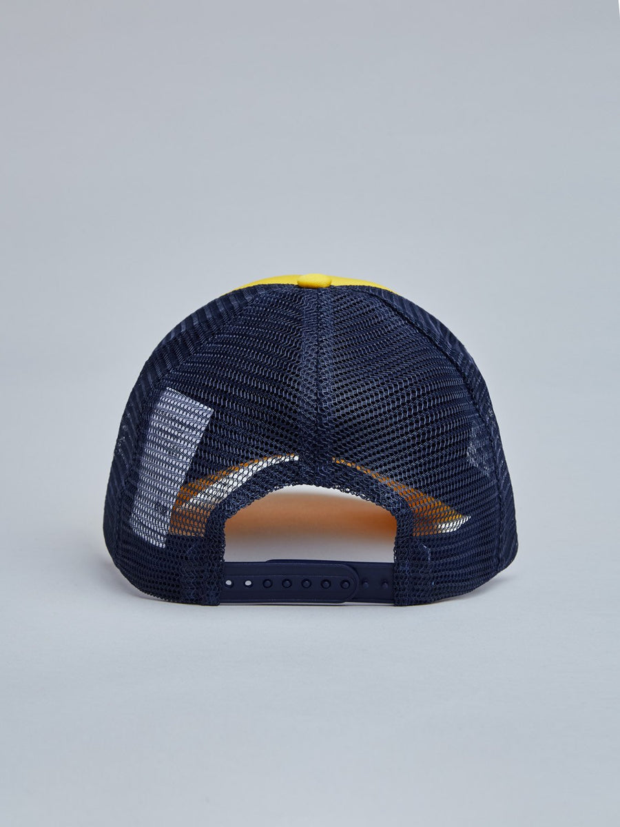 FRIP CAP - SAFFRON YELLOW/NAVY